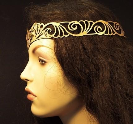 art noveau circlet