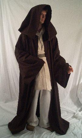 how to make a jedi cloak