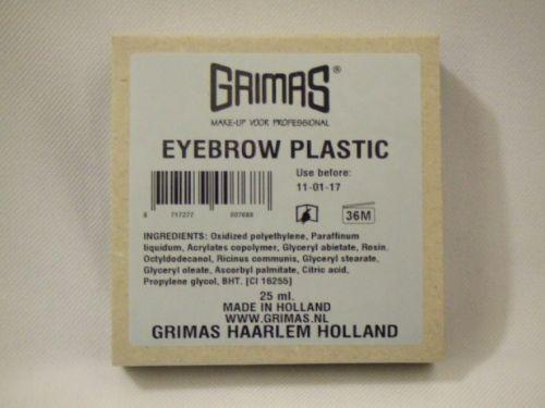 Grimas Cake Make Up  Broken White Review