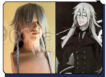 Undertaker black butler wig