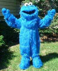 COOKIE MONSTER? And such an easy costume too and the good thing is that the key is to keep it simple. & Be the most famous monster this Halloween: be.... the COOKIE MONSTER ...