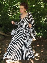 katrina sleepy hollow striped dress