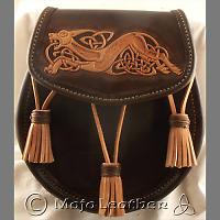 Tooled Tassel Sporran