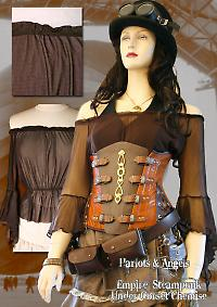 harlots and angels steampunk corsetry and hats