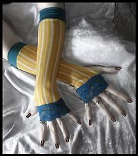 circus victorian gloves