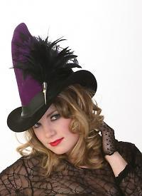witch hat broom rider
