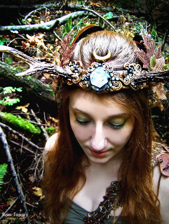 Susan Tooker 180 S Spinning Castle Awesome Fairy Headpieces
