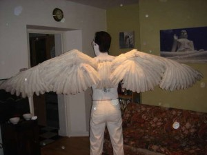 how to make angel wings tutorial in instructables
